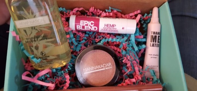 Beauty Box 5 March 2016 Subscription Box Review – Make Room to Bloom