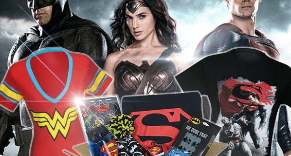 Hero Box Batman v Superman & Wonder Woman Limited Edition Boxes Now Available!