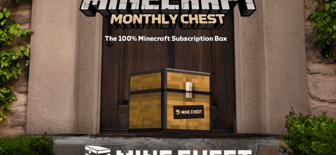 Mine Chest Subscriptions Available – Official Minecraft Subscription Box
