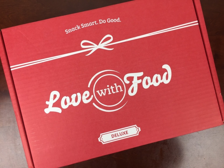 love with food deluxe february 2016 box