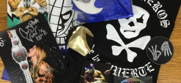 Lucha Loot Subscription Box Review & Coupon – March 2016