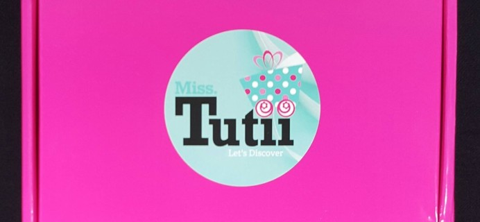 MissTutii Box February 2016 Subscription Box Review