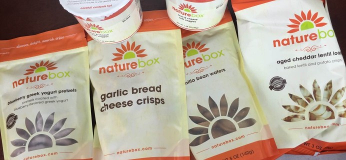 NatureBox March 2016 Subscription Box Review & 50% Off Coupon