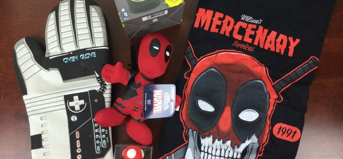 Nerd Block February 2016 Subscription Box Review + Coupon Codes