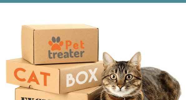 New Pet Treater Cat Limited Edition Box & Coupon!