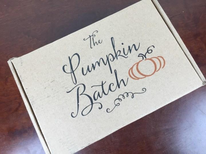 pumpkin batch february 2016 box