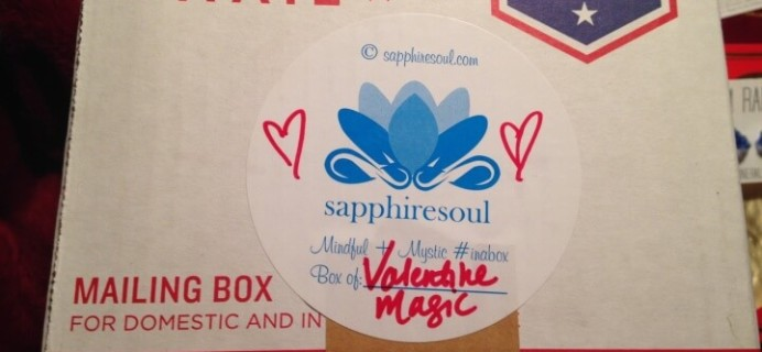 Sapphire Soul February 2016 Subscription Box Review