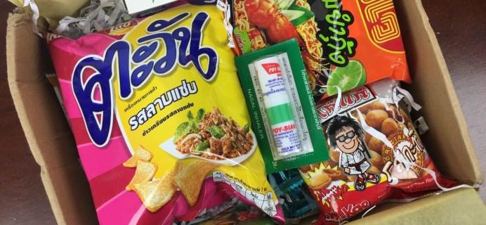 ThaiThaiBox March 2016 Subscription Box Review & Coupon