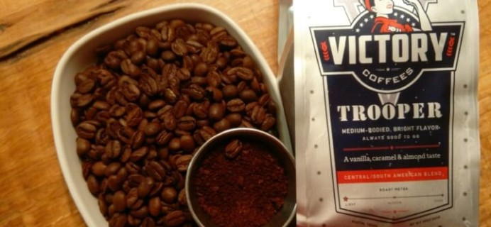 Victory Coffees Subscription Box Review + 50% off coupon – January 2016