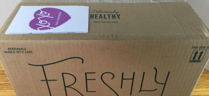 Freshly Subscription Box Review & Coupon