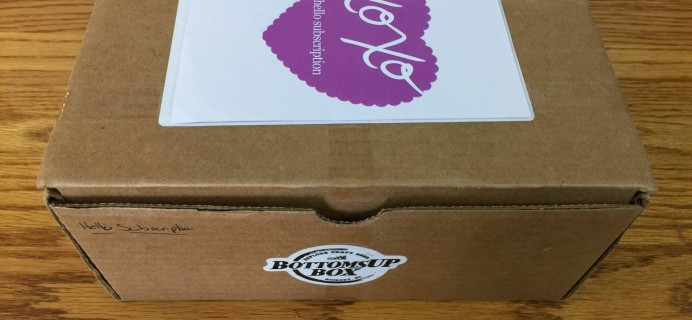 BottomsUp Box March 2016 Subscription Box Review