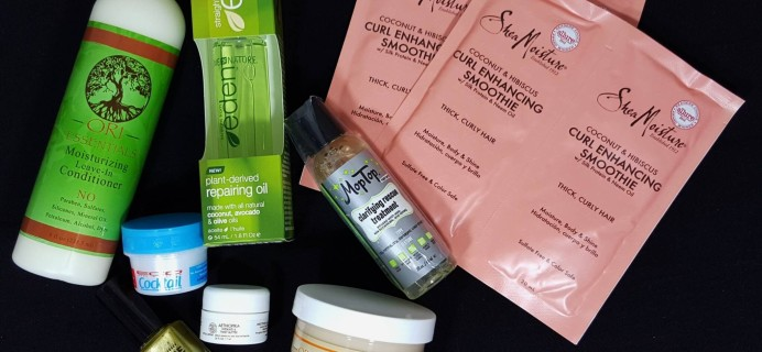 CurlKit March 2016 Subscription Box Review & Coupon
