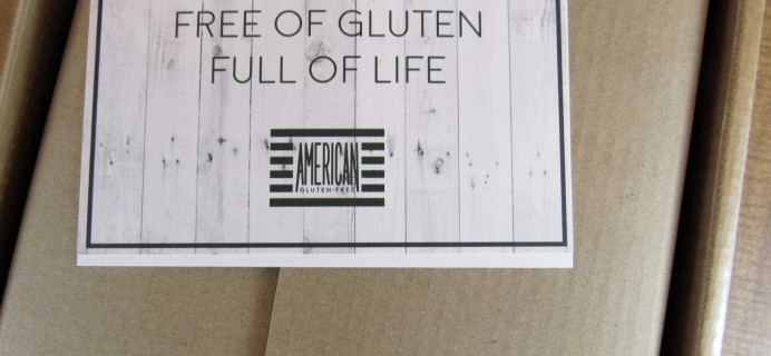 American Gluten-Free Subscription Box Review & Coupon – March 2016