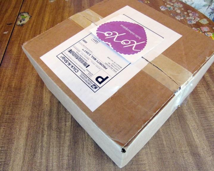 A large box!