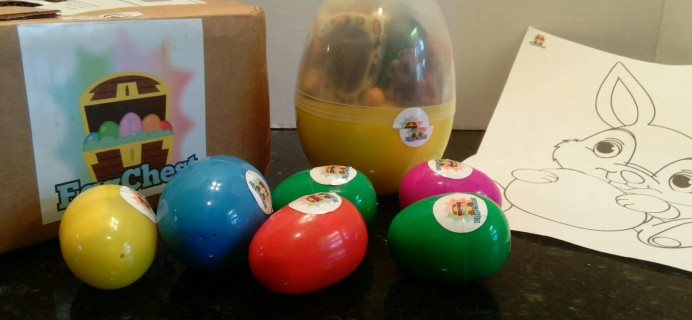 Egg Chest Subscription Box Review – March 2016