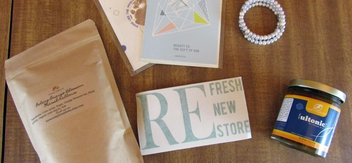 Genuine Articles Subscription Box Review + Coupon – Spring 2016