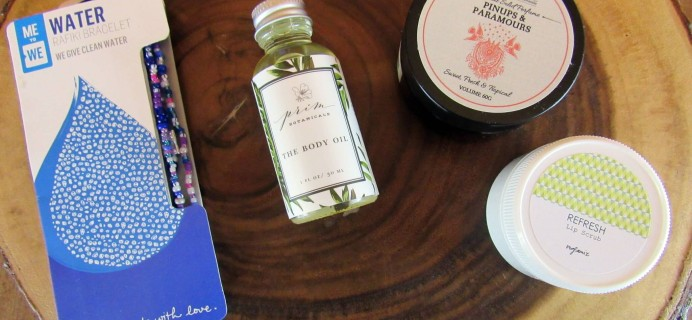 Goodbeing Subscription Box Review – March 2016