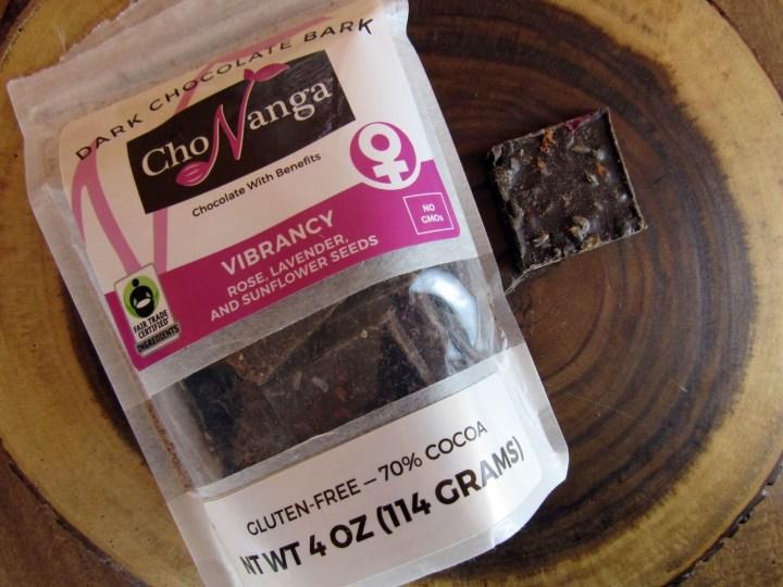 ChoNanga Vibrancy Chcolate Bark