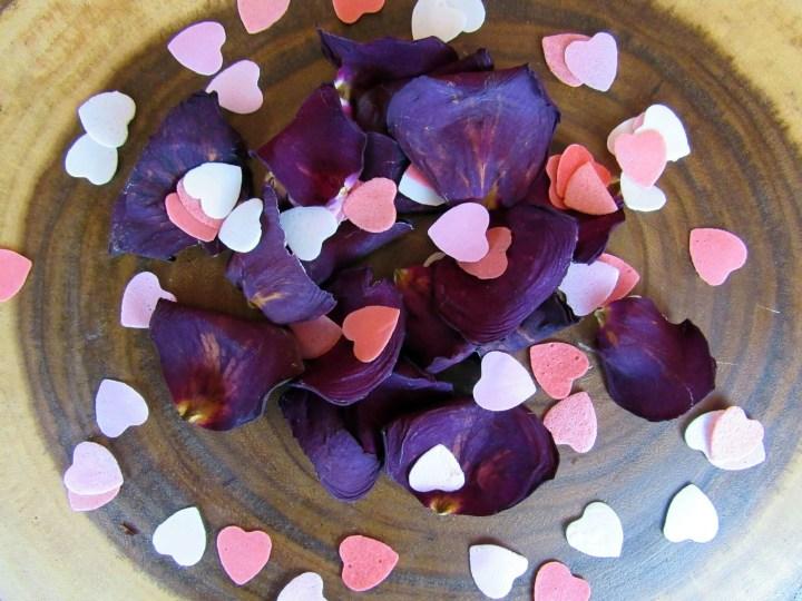 Bubble Bath Hearts! Rose Petals not included