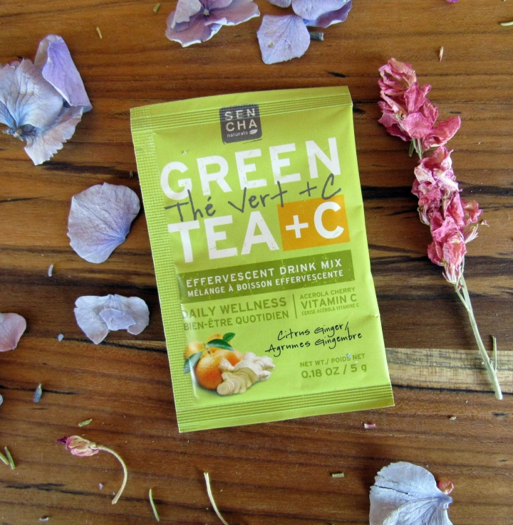 Citrus Ginger Green Tea + C