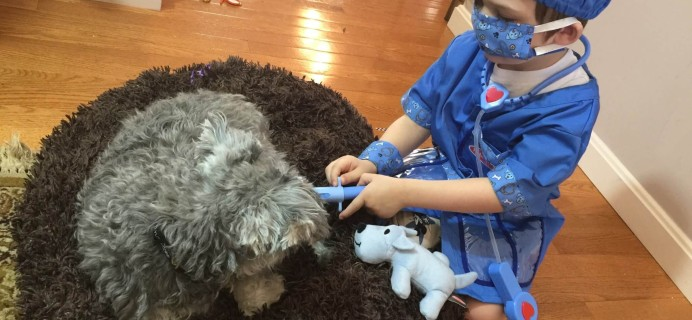 My Pretend Place Dress-Up Subscription Box Review & Coupon – Veterinarian Box!