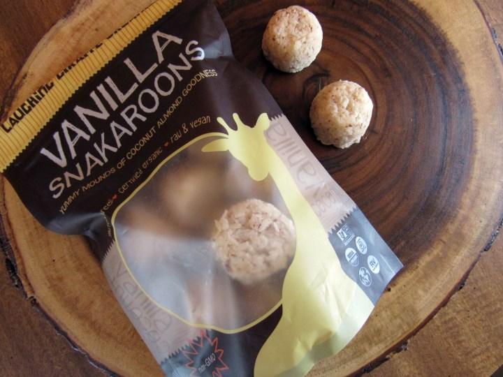 Vanilla Snackaroons