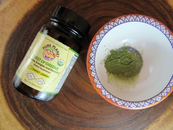 Pure Planet Best of Greens Lemon Flavor