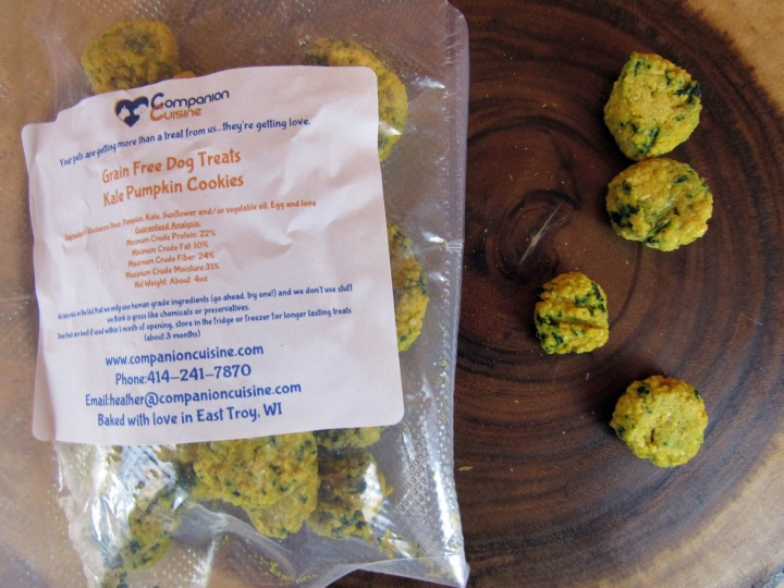 Kale Pumpkin Treats