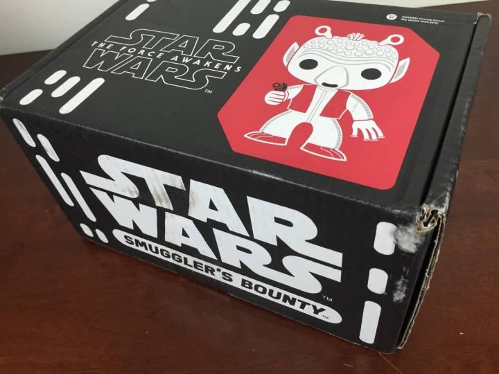 Smuggler's Bounty Star Wars Box March 2016 box