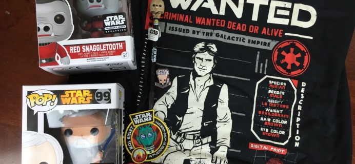 Smuggler's Bounty March 2016 Subscription Box Review – CANTINA