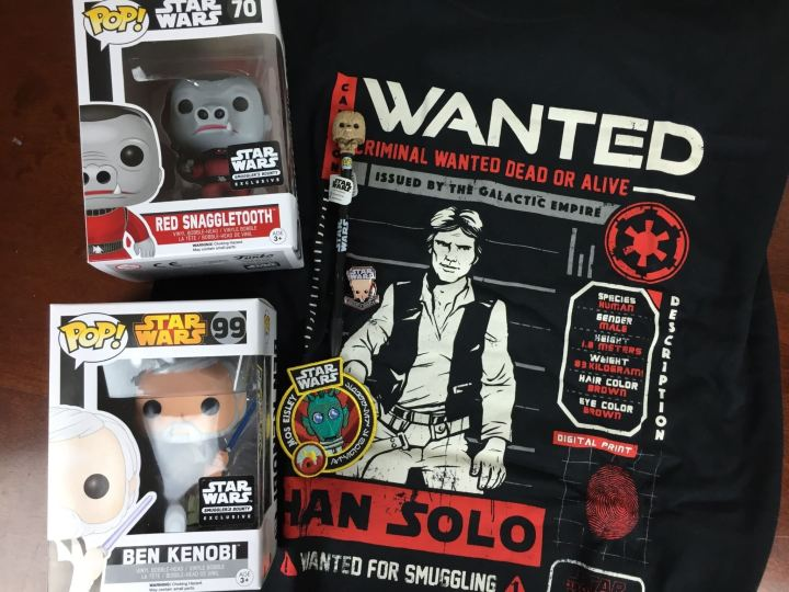 Smuggler's Bounty Star Wars Box March 2016 review