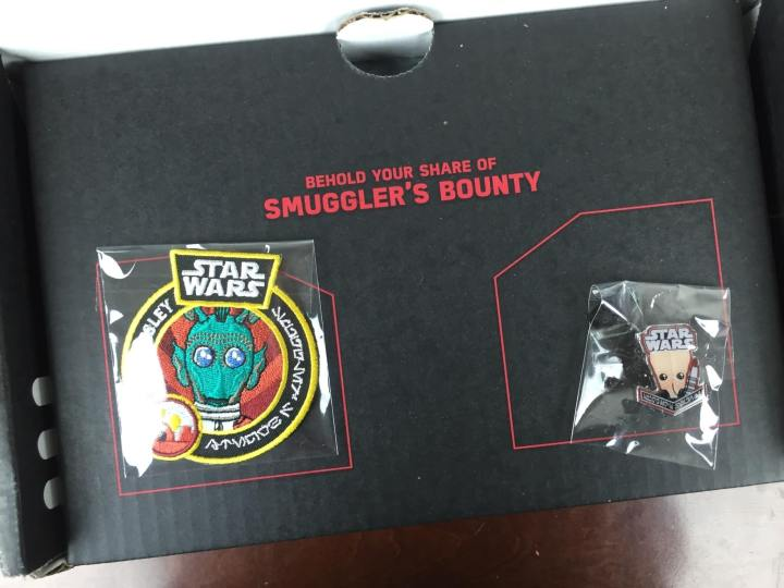 Smuggler's Bounty Star Wars Box March 2016 unboxing