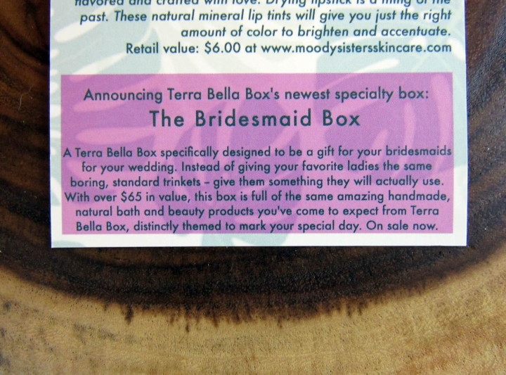 New Box - The Bridesmaid Box