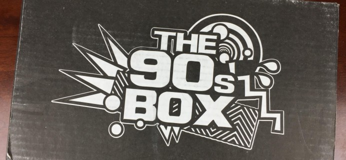 The 90s Box March 2016 Subscription Box Review & Coupon