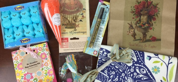 Tinselbox March 2016 Subscription Box Review & Coupon
