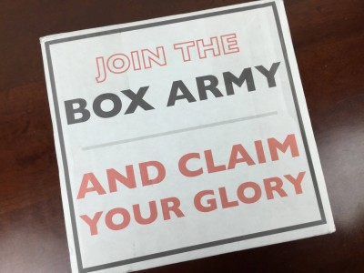 Box War Subscription Box Review & Coupon – February 2016