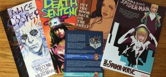 Comic Bento March 2016 Subscription Box Review & Coupon