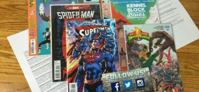 ComicBoxer – February 2016 Subscription Box Review & Coupon