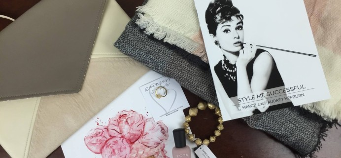 Covet Crate March 2016 Subscription Box Review + Coupon