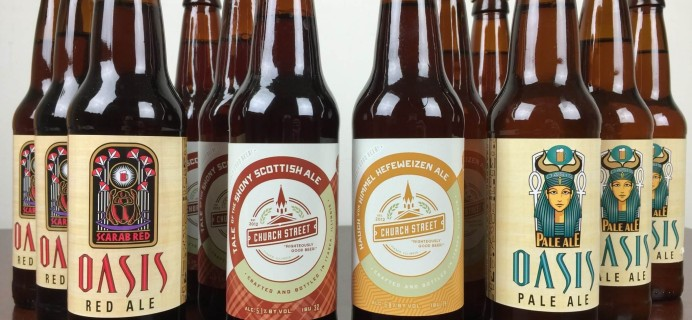 Craft Beer Club March 2016 Subscription Box Review