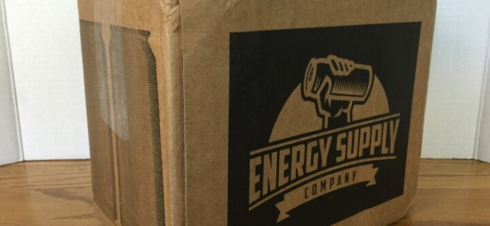 Energy Supply Company Subscription Box Review & Free Box Coupon – March 2016