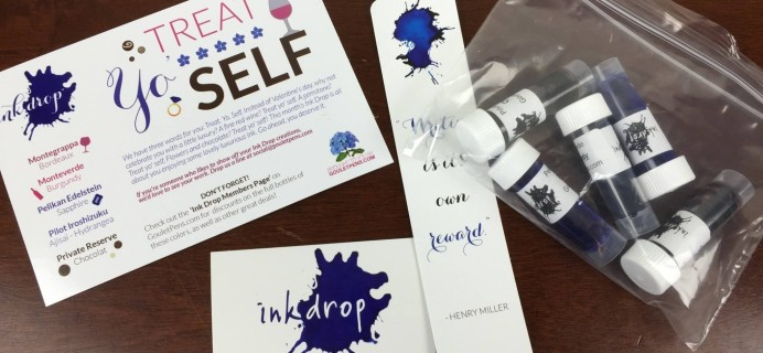 Goulet Pens Ink Drop February 2016 Subscription Review