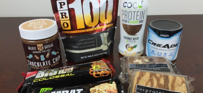 Gymbag February 2016 Subscription Box Review