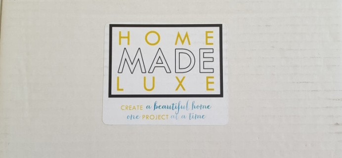 Home Made Luxe Subscription Box Review & Coupon – March 2016