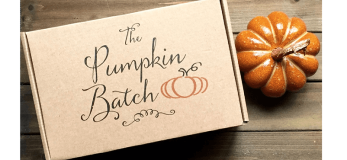 The Pumpkin Batch – New Lower Price + Coupons!