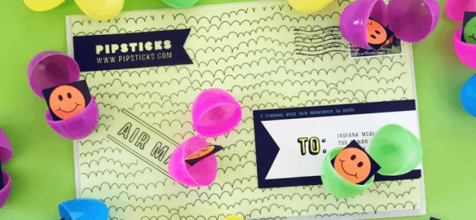 Save $5 on Pipsticks Kids Club Sticker Subscription!