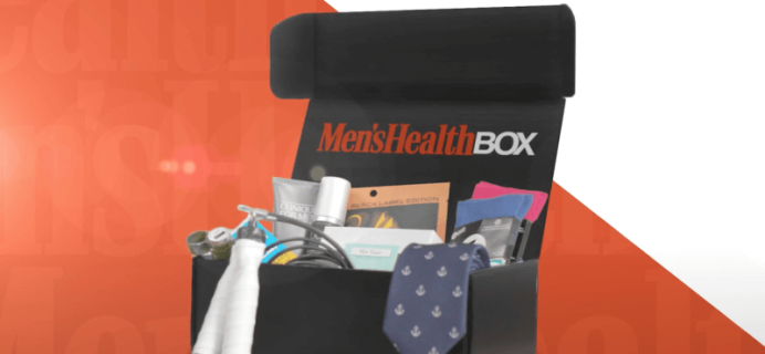 Men's Health Box Subscription Closing!