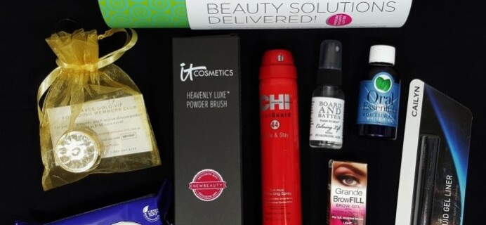 March 2016 New Beauty Test Tube Subscription Box Review & Giveaway & Coupons