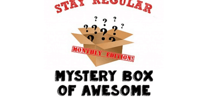Stay Regular Monthly Mystery Box March 2017 Spoiler