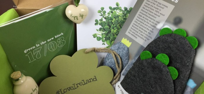 My Ireland Box March 2016 Subscription Box Review